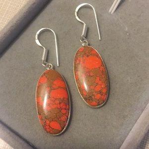 New Mosaic Jasper stylish Earrings